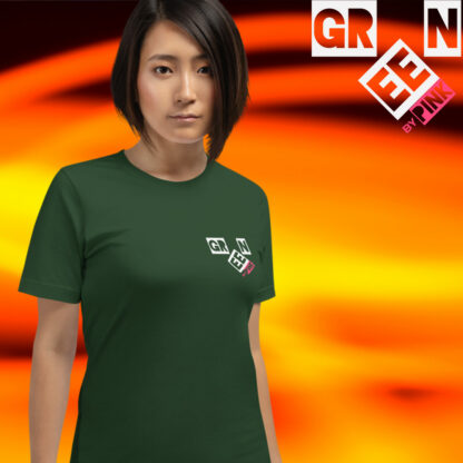 FOREST GREEN by PINK t-shirt