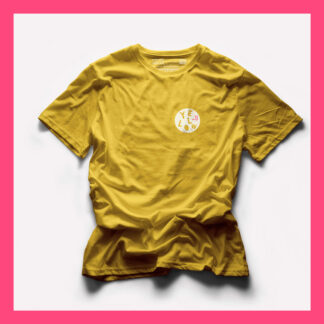 YELLOW T-SHIRT by PINK THE COLLECTION