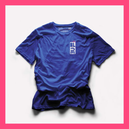 BLUE T-SHIRT - PINK THE COLLECTION