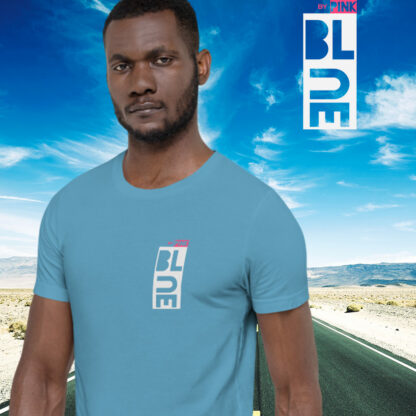OCEAN BLUE T-SHIRT - PINK THE COLLECTION