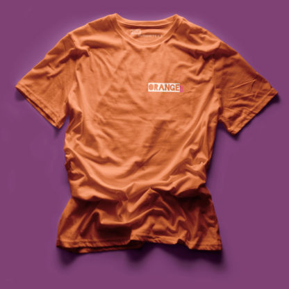 ORANGE BY PINK - THE PINK COLLECTION - TURNIP TEEZ