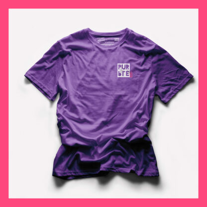 PURPLE T-SHIRT - PINK THE COLLECTION