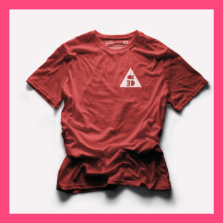 RED T-SHIRT - PINK THE COLLECTION