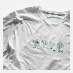 Just 4 Fans T-Shirt by Betty and Ethel