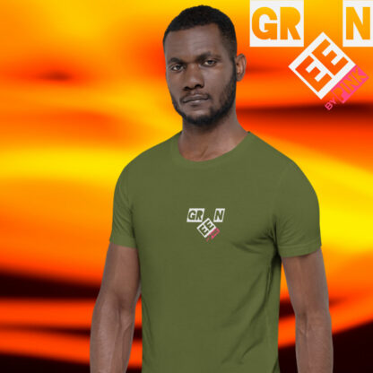 OLIVE GREEN T-SHIRT BY PINK