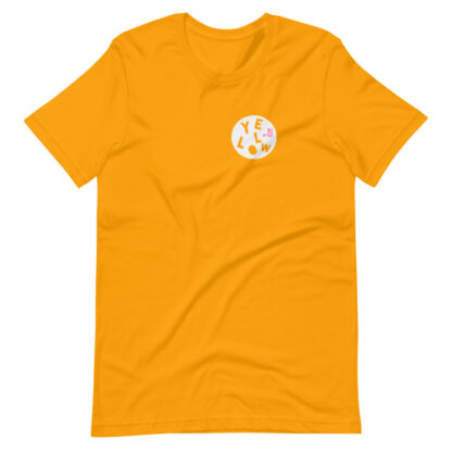 GOLD YELLOW T-SHIRT by PINK THE COLLECTION