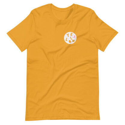 MUSTARD YELLOW T-SHIRT - THE PINK COLLECTION
