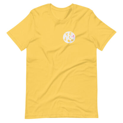YELLOW T-SHIRT - THE PINK COLLECTION